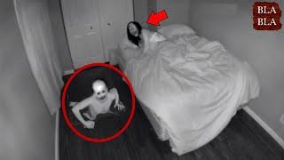 ظواهر مرعبة صورتها الكاميرا صدفة في المنزل !!