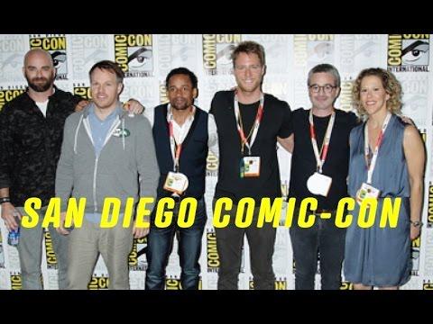 Craig Sweeny, Heather Kadin, Alex Kurtzman And Marc Webb LIMITLESS Comic Con 2015 Interview