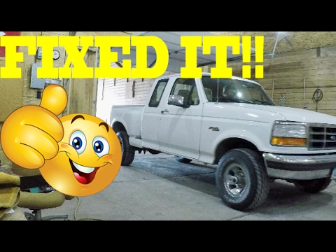 92-96 Ford Truck WINDOW MOTOR Fix - EASY