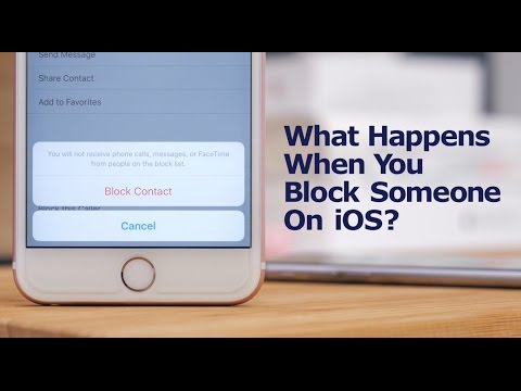 How to block emails on an iphone 8 plus