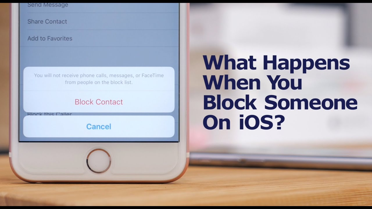 how to block someone on your iphone what happens when you block someone on your iphone 19860