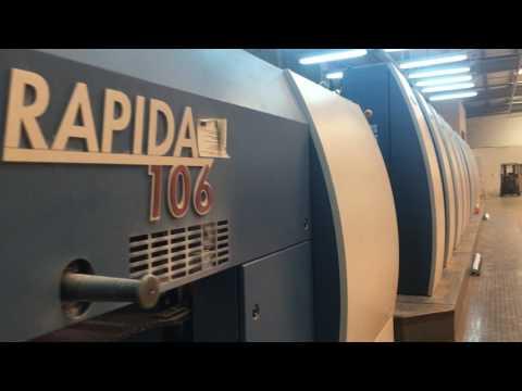 KBA Rapida 106 10sw5