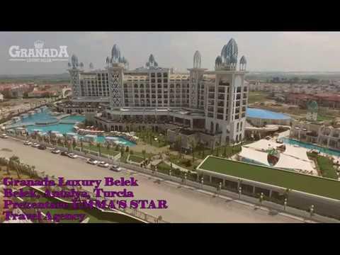 GRANADA LUXUR,  Belek, Antalya, Turcia- Prezentare EMMA'S STAR Travel Agency