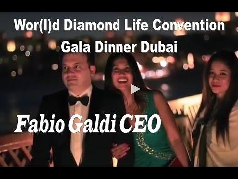 World Global Network Diamond Convention Dubai Gala Dinner w/ Fabio Galdi CEO