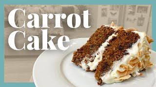How to Bake tнe Best Carrot Cake with Cheese Icing & Caramel Sauce