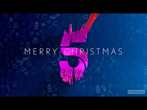 Channel 5 HD UK Christmas Continuity 2016
