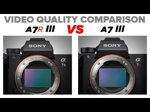 A7r III Vs A7 III | Video Quality And ISO Comparison Test