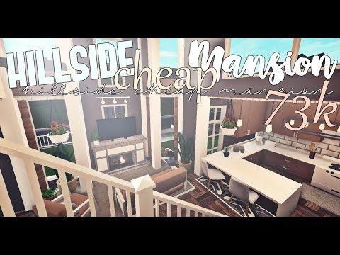 Bloxburg : Hillside Cheap Mansion (No Advanced Placing)
