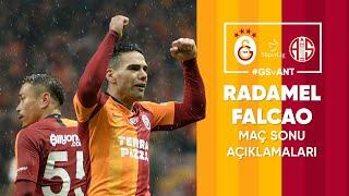 🎙 Radamel Falcao'nun maç sonu açıklamaları | #GSvANT