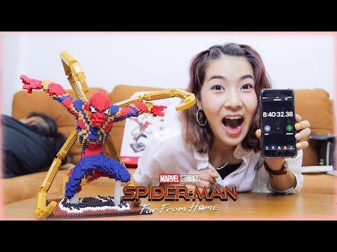 ต่อเลโก้ Spider-Man ยักษ์ เกือบ 4,000 ชิ้นภายในเวลา 8 ชั่วโมง