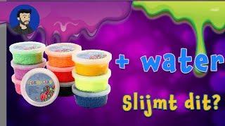 Foam klei water - Slijmt dit