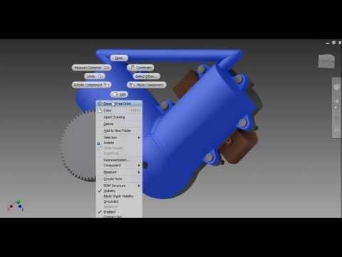 Stirling Engine Design On Autodesk Inventor 2012
