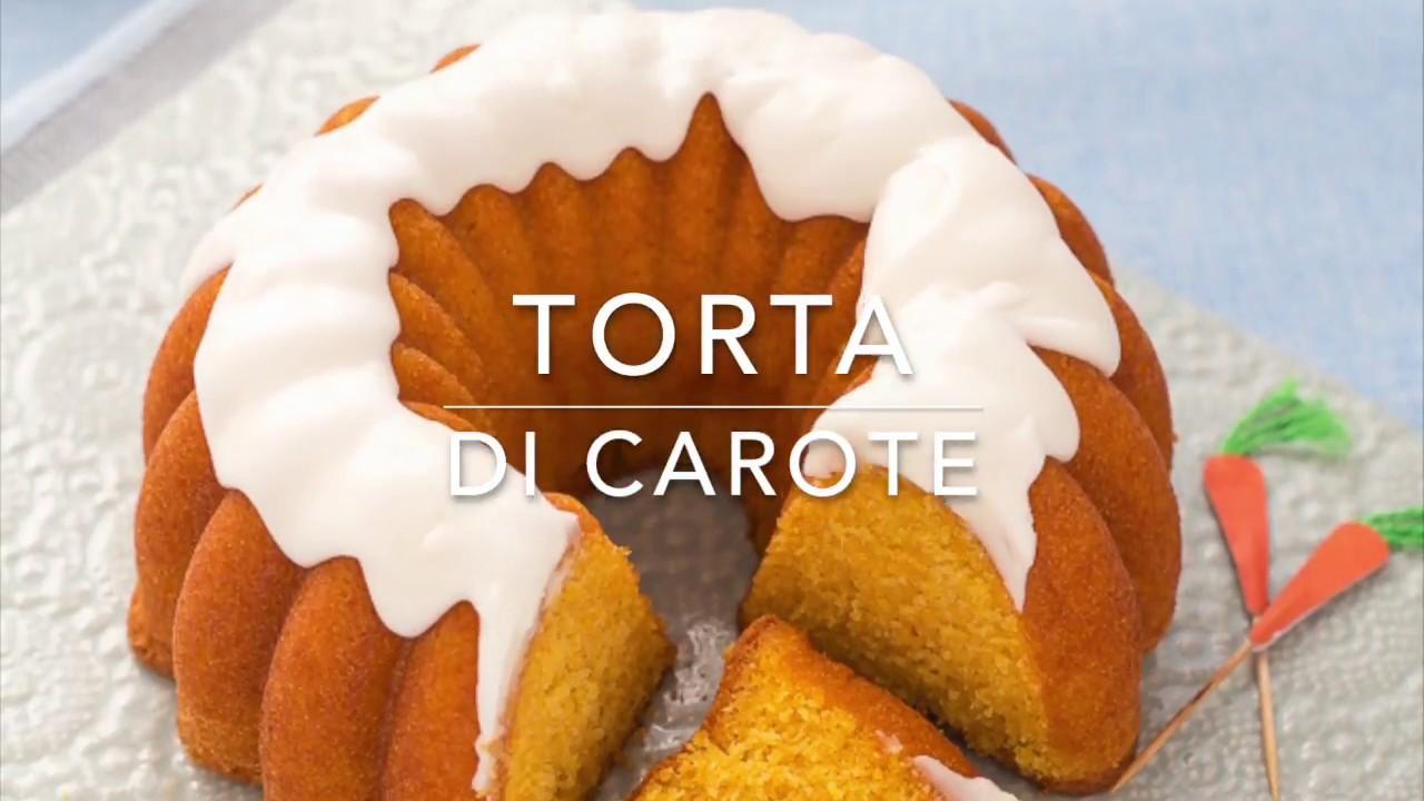 Torta Di Carote Facilissima Bolo De Cenoura Chiarapassion Youtube