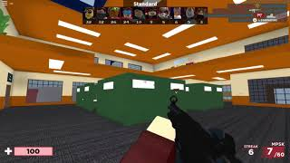 Couple minutes of me playing Arsenal on Roblox