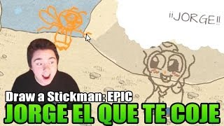 SALVEMOS A JORGE | Draw a Stickman: EPIC