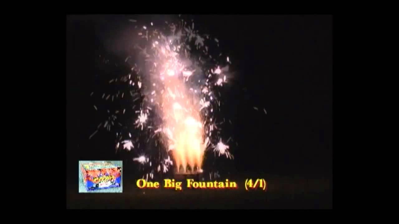 Jakes Fireworks One Big Fountain