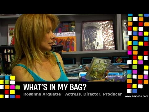 Download Youtube: Rosanna Arquette - What's In My Bag?