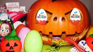 Halloween Kinder Surprise, Mickey Mouse, Disney, La casa, Shrek, Asterix