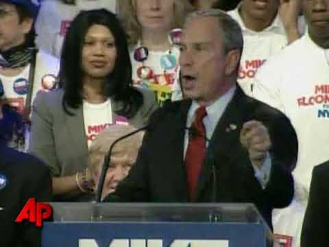 Bloomberg Wins 3rd Term As NYC Mayor