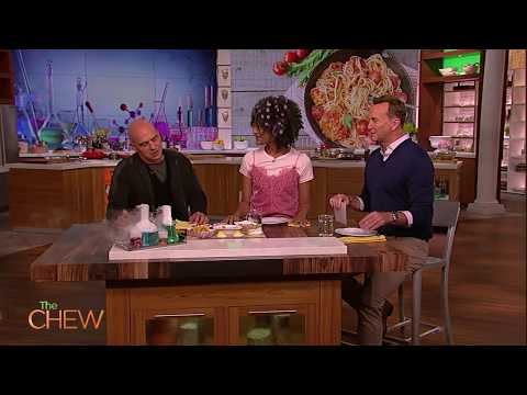 Michael Symon's New Roommate Is Bobby Flay | The Chew