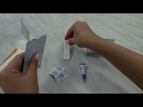 Инструкция по применению экспресс-теста