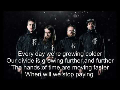 Fit For A King - The Price Of Agony (Lyrics)