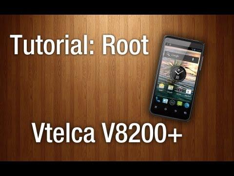 TUTORIAL: Root Vtelca - V8200+