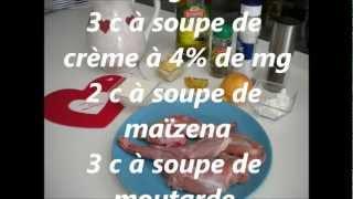 Recette Du Lapin à La Moutarde /rabbit With Mustard Recipe