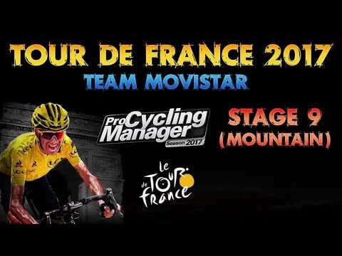 Tour de France 2017, Team Movistar, Stage 9 (Mountain)