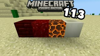 Minecraft PE 1.1.3 Co nowego?