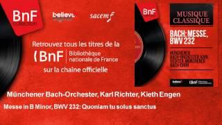 Münchener Bach-Orchester, Karl Richter, Kieth Engen - Messe