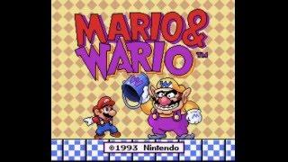 (SNES) Mario & Wario - Playthrough Part 1