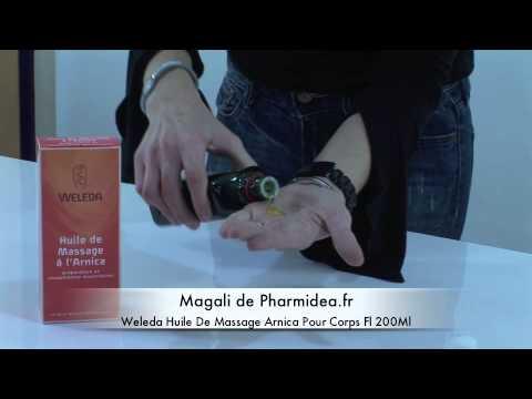 weleda huile de massage arnica pour corps parapharmacie en ligne youtube