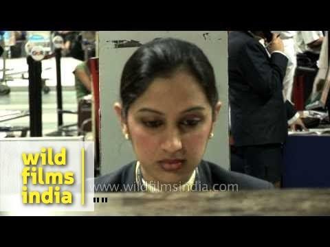 Inside Chhatrapati Shivaji International Airport- Mumbai