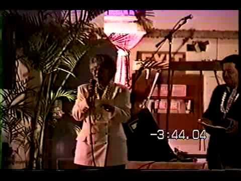 Mahalo Con 1996  Hawaii FiveO Stage dedication