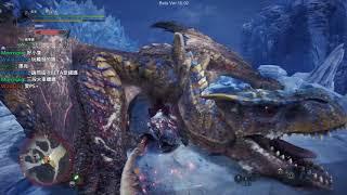 【聶寶】魔物獵人世界 DLC beta 太刀單挑轟龍 來自地獄的列車