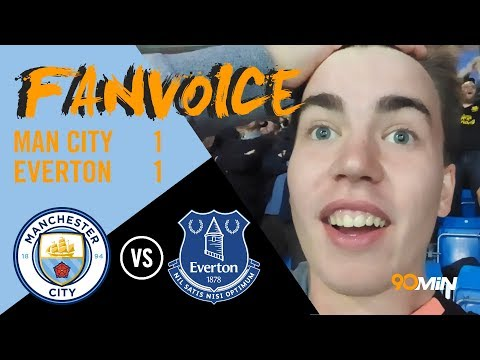 Rooney haunts Man City as Kyle Walker sent off! | Man City 1-1 Everton | 90min FanVoice