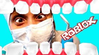 Чего боится Катя Побег от Стоматолога РОБЛОКС смешное видео от Кати для детей Мы играем