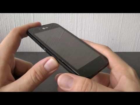 LG P970 OPTIMUS Black im Test (2): das Design