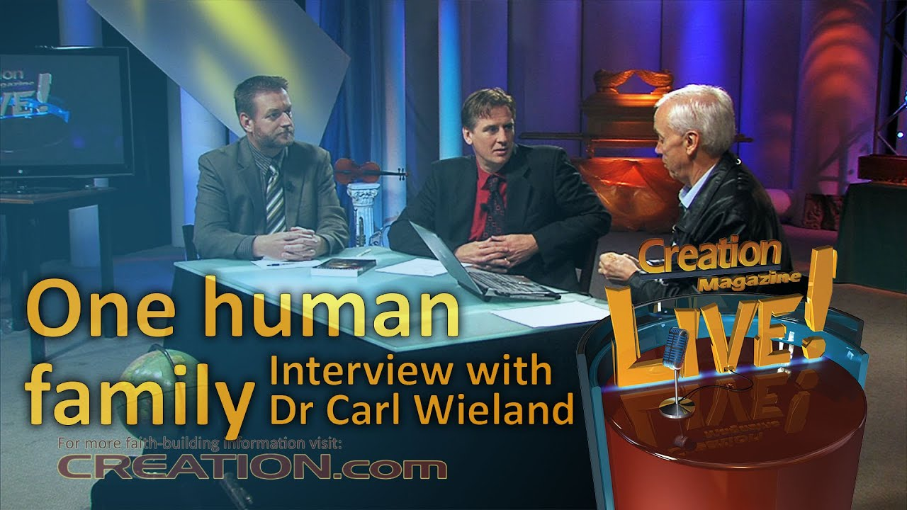 One human family -- an interview with Dr Carl Wieland (Creation Magazine LIVE! 3-21) by CMIcreationstation