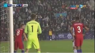 Казахстан U-21 — Англия U-21 0:1