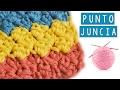 COMO HACER EL PUNTO JUNCIA A CROCHET - TUTORIAL | Danii's Ways