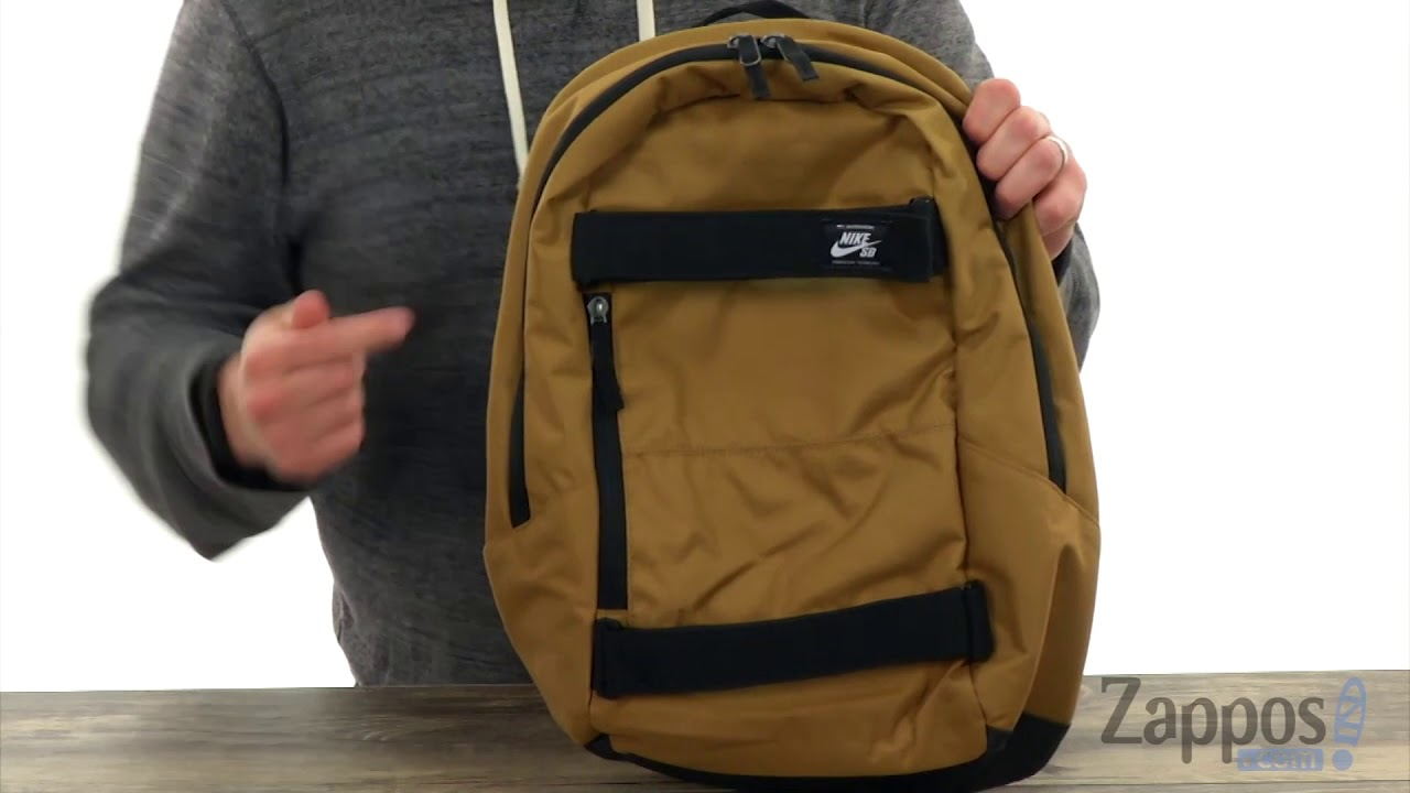 27634f391e6cb Nike SB Courthouse Backpack SKU: 9029330 - YouTube