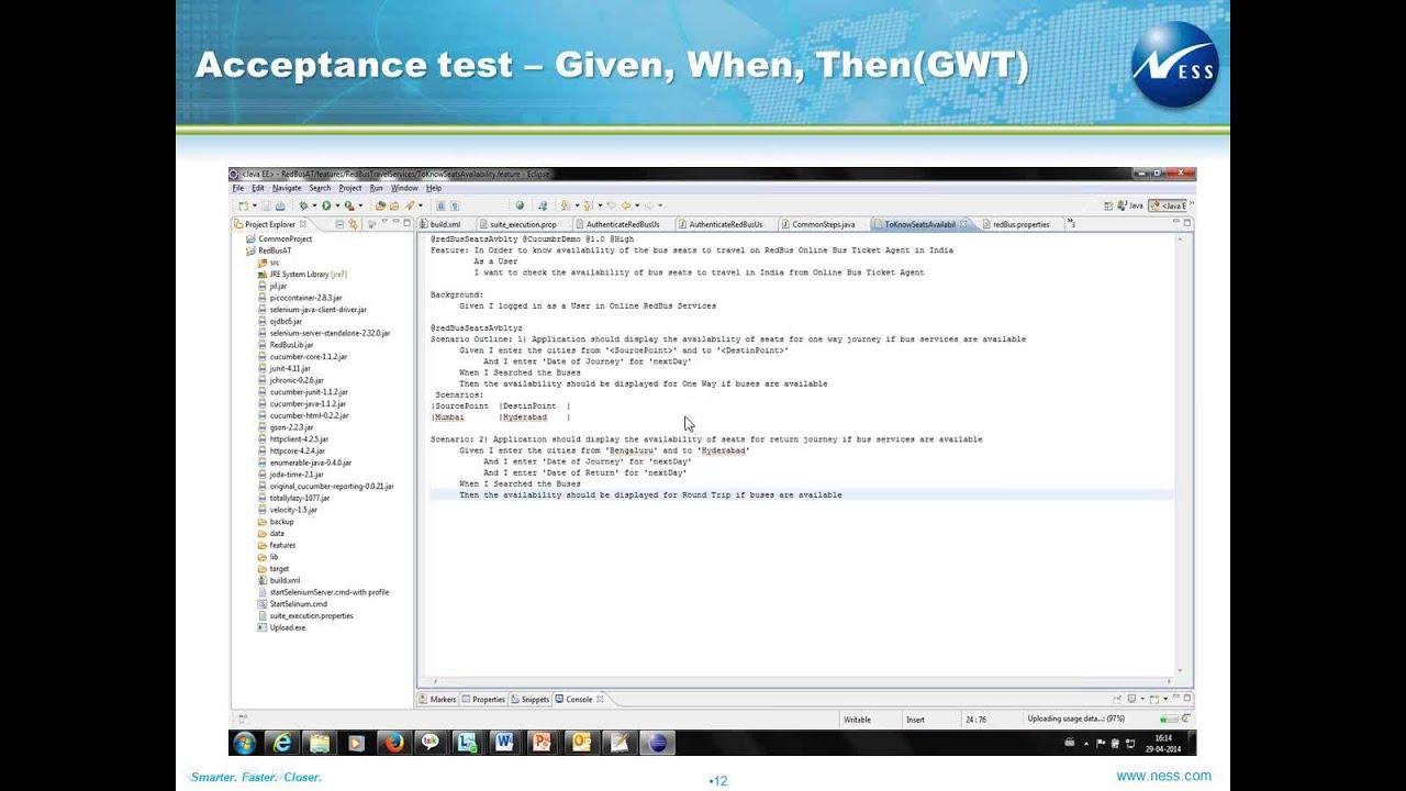 Acceptance test driven development atdd using selenium web driver acceptance test driven development atdd using selenium web driver baditri Images
