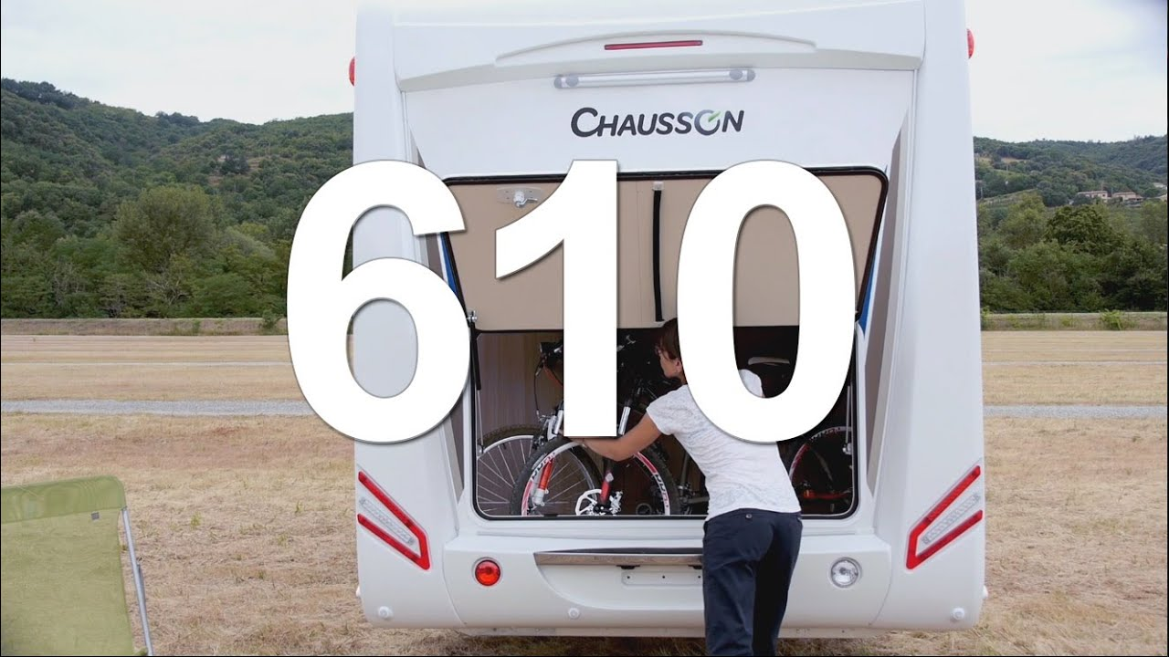 Camping Car Profil 233 Chausson 610 2015 Youtube