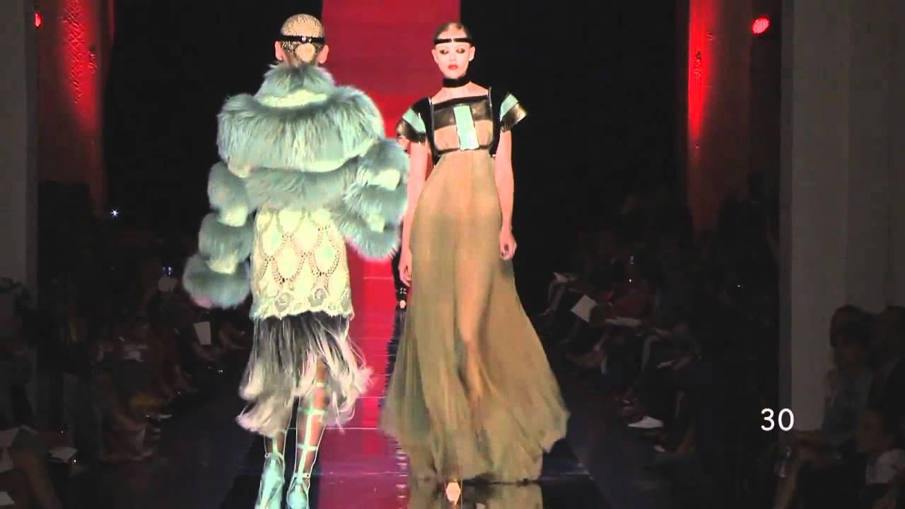 Jean Paul Gaultier X Haute Couture Fall Winter 2012 2013 Full Fashion Show