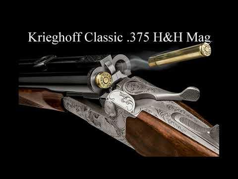 Krieghoff Classic with Ejectors .375 H&H Mag @ MSZU