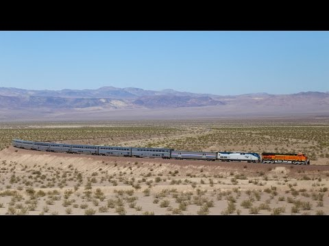 BNSF Needles Sub- Amtrak, 70MPH, Military and Grain, SD70ACe and More!