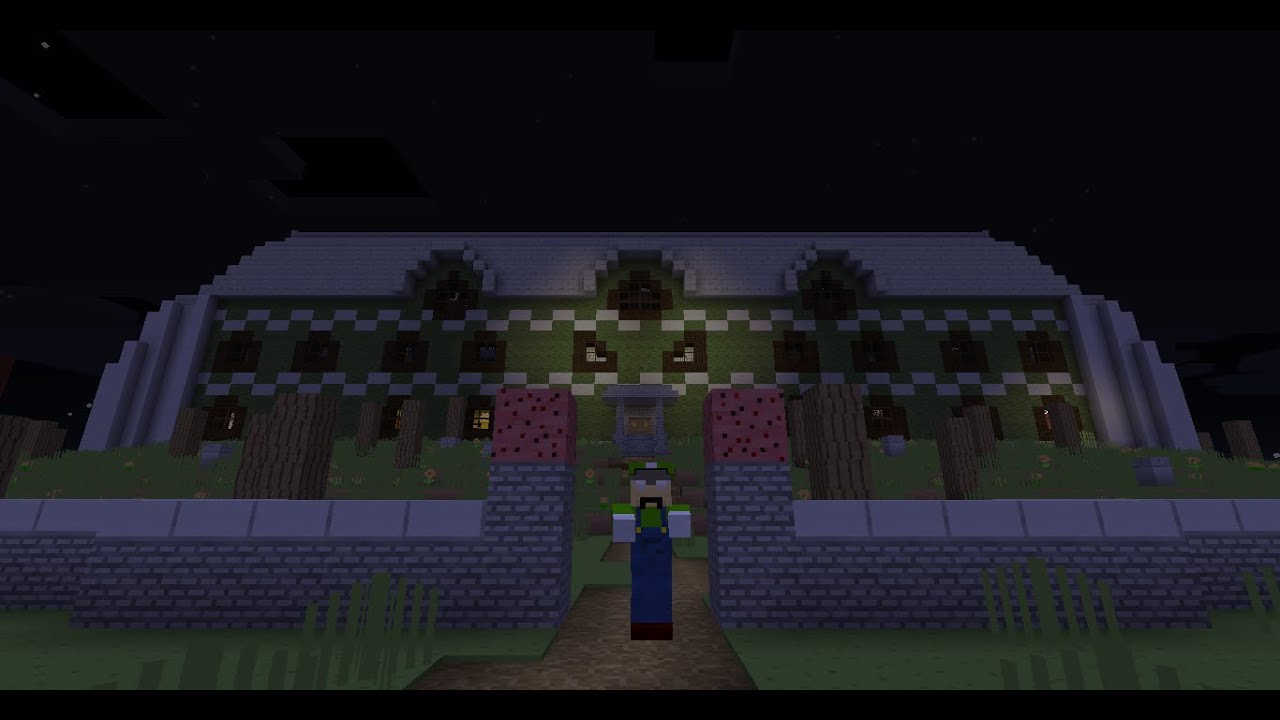 Minecraft Luigis Mansion Map Adventure