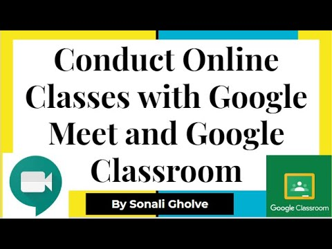Conduct Online Lectures on Google classroom| How to conduct online classes with Google classroom
